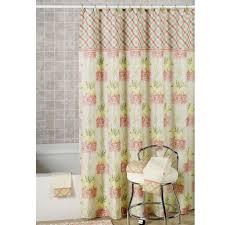 bathroom modern elegance bathroom with shower stall curtains