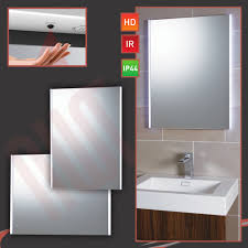 bathroom mirrors simple led bathroom mirrors with demister and