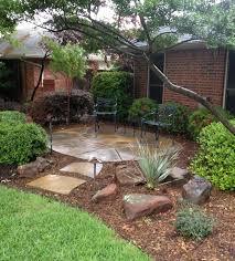 Landscape Mounds Front Yard - backyard creations photo gallery landscape design plano