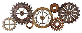 trent austin design spare parts wall clock u0026 reviews wayfair