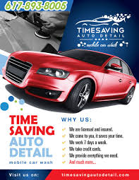 car washing website bold style bbds design
