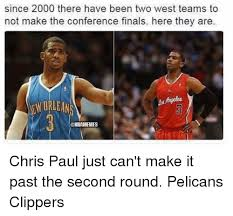 Chris Paul Memes - since 2000 there have been two west teams to not make the conference