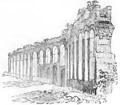 roman aqueduct biblical archaeology in ancient caesarea bible