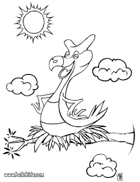 bird dinosaur coloring pages hellokids com