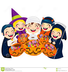 halloween trick or treat clip art u2013 festival collections