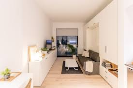 micro home design super tiny apartment of 18 square meters nyc micro apartments curbed ny
