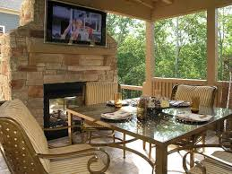 Small Outdoor Patio Ideas by Delightful 22 Patio With Fireplace Design On Patio Ideas With
