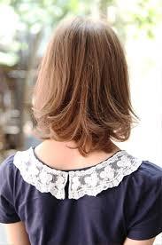 medium bob hairstyle front and back long bob haircuts back view
