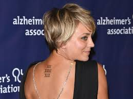 kaley cuoco u0027you should think twice about tattoos u0027 look