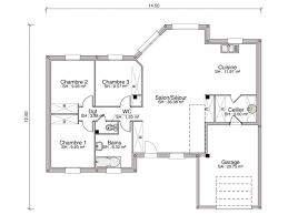 plan plain pied 5 chambres beau plan de maison plain pied 5 chambres 9 construction maison