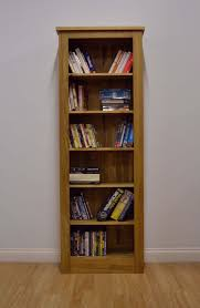 exclusive tall narrow bookcase oak m66 for your home decor ideas