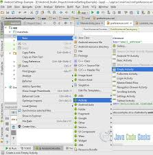 android preferences android settings exle exles java code geeks 2018