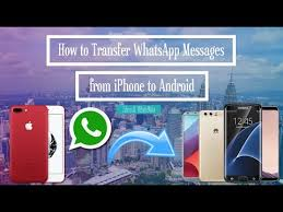 transfer whatsapp messages from iphone to android how to transfer whatsapp messages chats from iphone to android