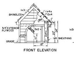 Dog House Floor Plans Build A Dog House With Free Plans