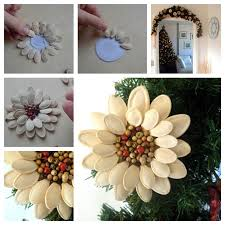 wonderful diy pumpkin seed flower decoration
