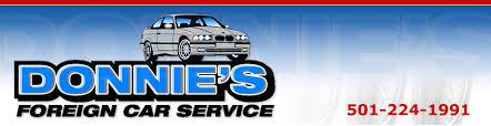 is bmw a foreign car donnie s foreign car rock arkansas car repair service
