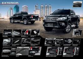 land cruiser pickup accessories toyota hilux revo accessories and all brands of genuine accessories