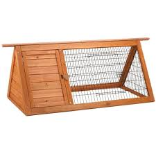 Extra Large Rabbit Cage Premium Backyard Rabbit Hutch 01533 The Home Depot