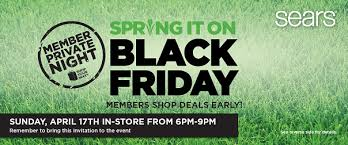 black friday deals on gift cards sears spring it on black friday sale 50 gift card giveaway