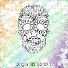 sugar skull st stamps view all sugar skull small st