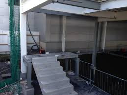 precast stairs bs8110 type b finish for liffey valley sc dublin
