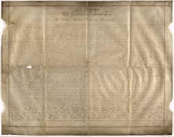 rare version of declaration of independence found u2014in a british