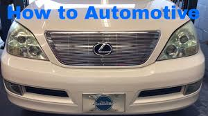 lexus vehicle check how to replace the secondary air injection pump and check valves