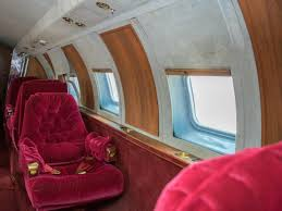 the grandeur and faded glory of elvis u0027 private jet rotting in the
