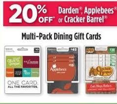 darden gift card discount dollar general black friday darden applebees or cracker barrel