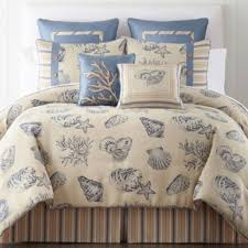 Coastal Comforters Bedding Sets P U003einspired By The Blue Waters Of The Caribbean This Comforter Set