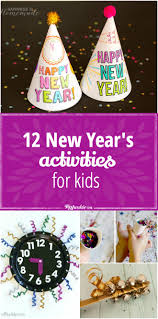 12 new year u0027s activities for kids tip junkie