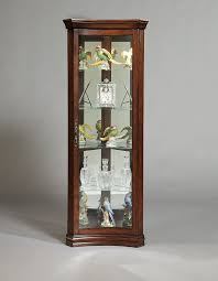 Home Wall Display Decoration Standing Glass Cabinet Small Glass Wall Display