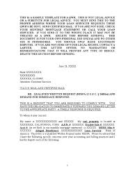 attorney steve sample qwr template deed of trust real estate