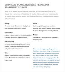 non profit business plan template 21 free word pdf documents