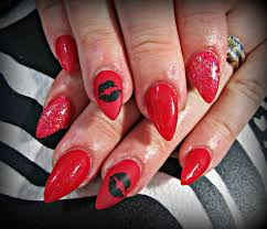 45 lifesaver red nail designs