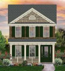 653437 2 story traditional narrow lot house plan house plans