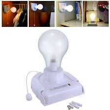 stick up bulb cordless battery operated wall light for cabinet