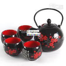 teapot set 2018 calligraphy tea set teapot cups kunfu tea chinaware top