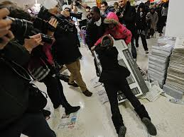 walmart black friday strategy pictures of black friday shopping business insider