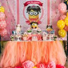 girl birthday ideas despicable me party ideas for a girl birthday catch my party
