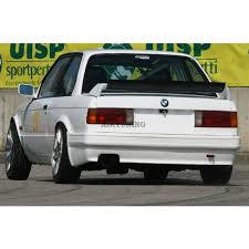 evo 3 spoiler bmw e30 rear evo m3 style trunk spoiler wing for regular e30