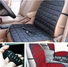coussin si e auto 2x nouveau épaississement chauffée chauffage de siège de voiture