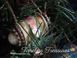 timeless treasures wooden sewing thread spool ornaments