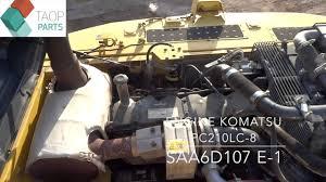 komatsu pc210 lc 8 youtube
