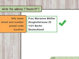 brilliant ideas of how to write a letter in german also cover