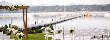 wedding venues washington state seattle wedding venues alderbrook resort spa washington state
