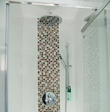 bathroom feature tile ideas charming mosaic tile feature wall bathroom also interior home