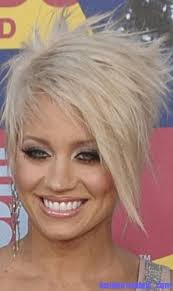 short hair with wispy front and sides short textured blonde crop haircut with wispy side swept bangs