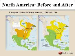 america map before and after and indian war and indian war building forts in the ohio valley