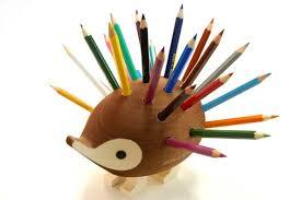cool pen holders hardtmuth koh i noor cute hedgehog pencil holder quest for the